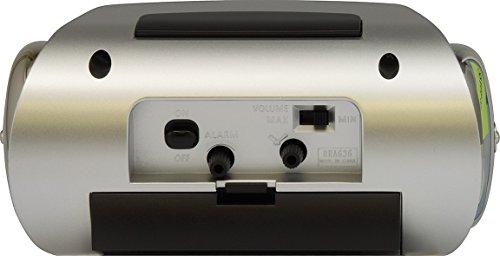シチズン 大音量 目覚まし 時計 アナログ バトルパワーR636 銀色 メタリック CITIZEN 8RA636-002