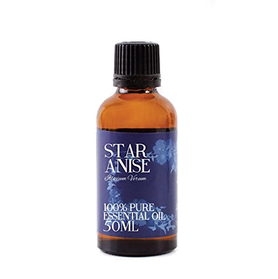専制厳密に流行しているMystic Moments | Star Anise Essential Oil - 50ml - 100% Pure