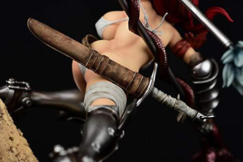 フェアリーテイル エルザ・スカーレット the 騎士ver. 1/6スケール PVC製塗装済み完成品 全高約315mm