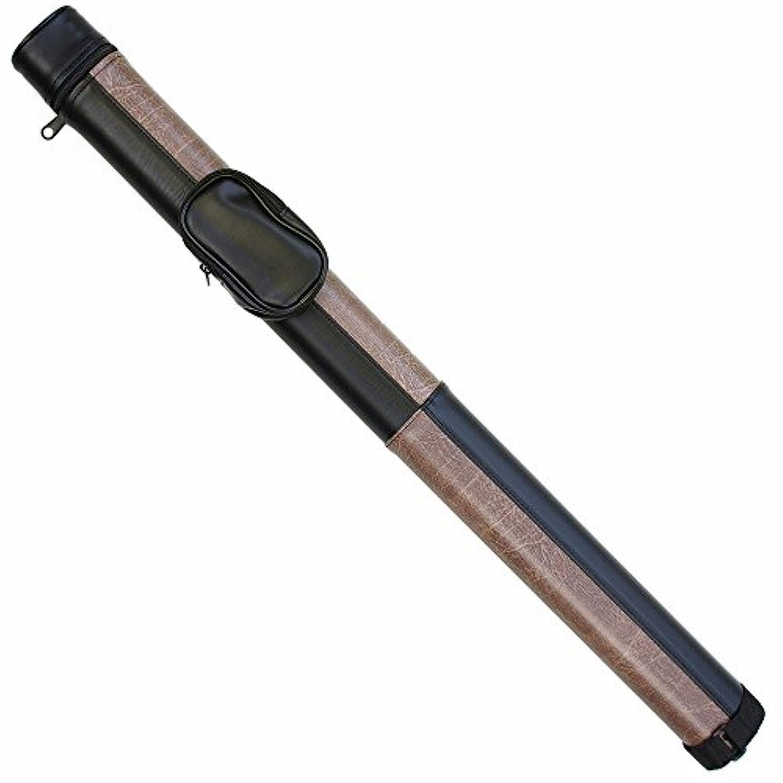 ビリヤード ケース コンビ ブラック×ブラウン 62216P (バット1本シャフト1本収納)