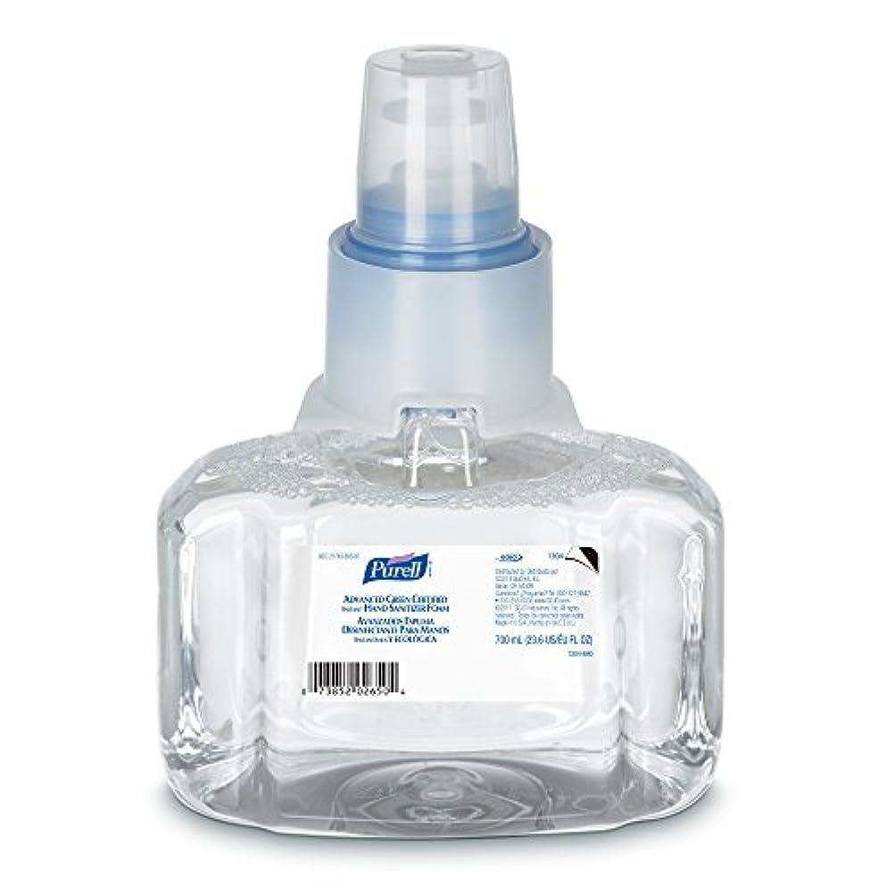 貸し手脚本句Purell 1304-03 Advanced Green Certified Instant Hand Sanitizer Foam, 700 ml Refill (Pack of 3) by Purell