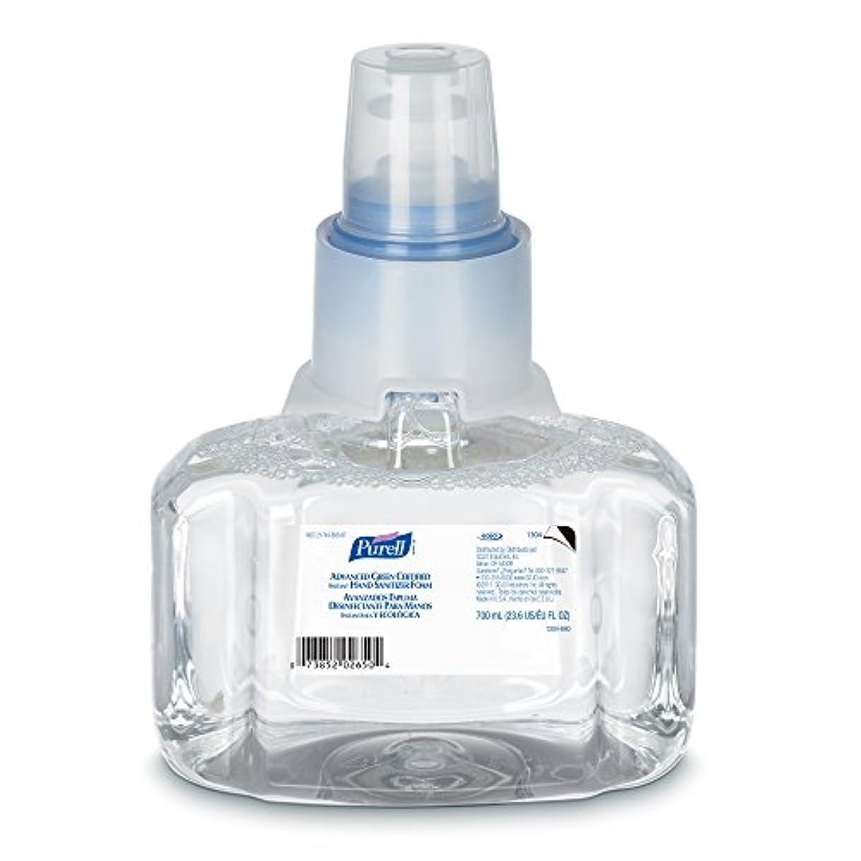 スタンドピンク快適Purell 1304-03 Advanced Green Certified Instant Hand Sanitizer Foam, 700 ml Refill (Pack of 3) by Purell