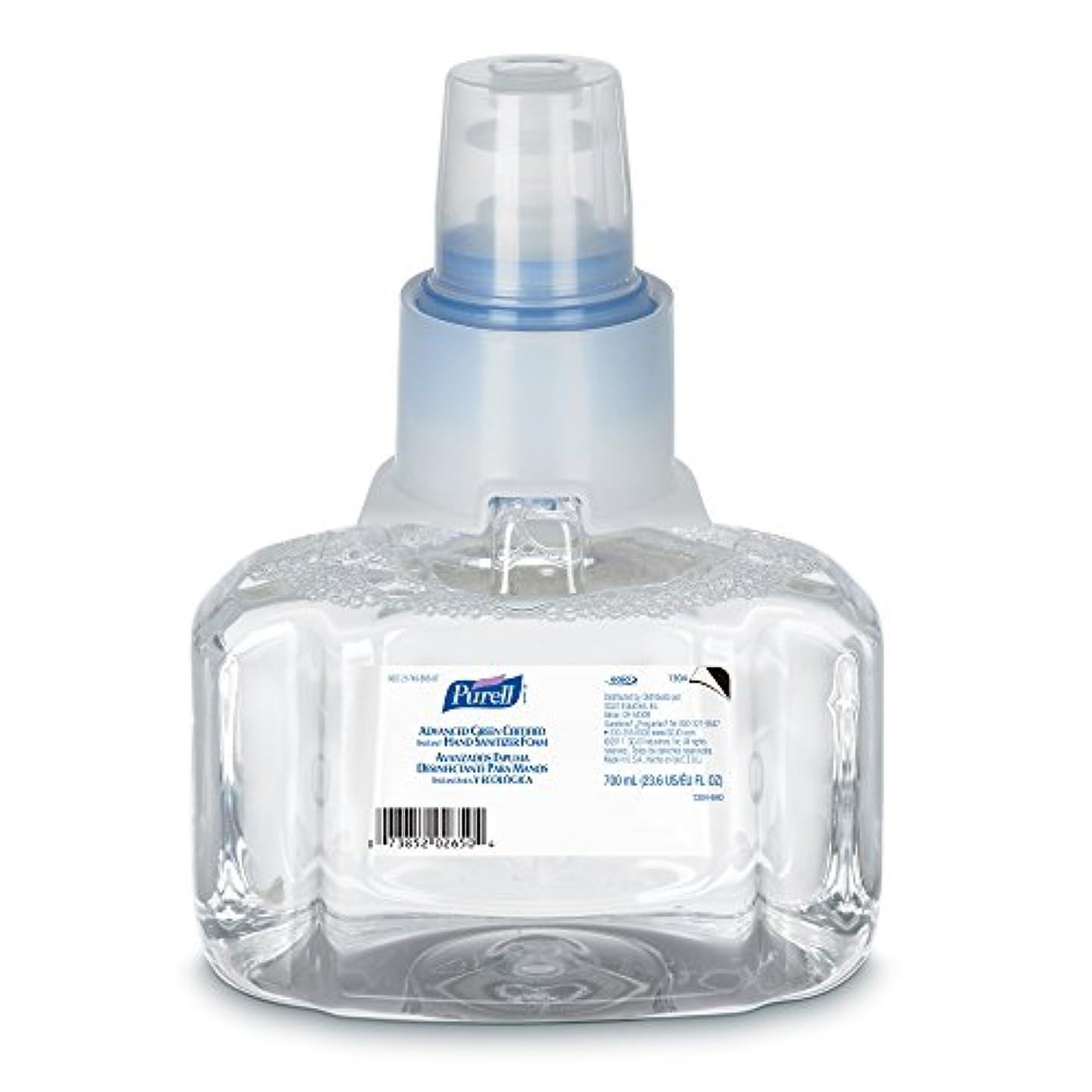 校長するだろう温度Purell 1304-03 Advanced Green Certified Instant Hand Sanitizer Foam, 700 ml Refill (Pack of 3) by Purell