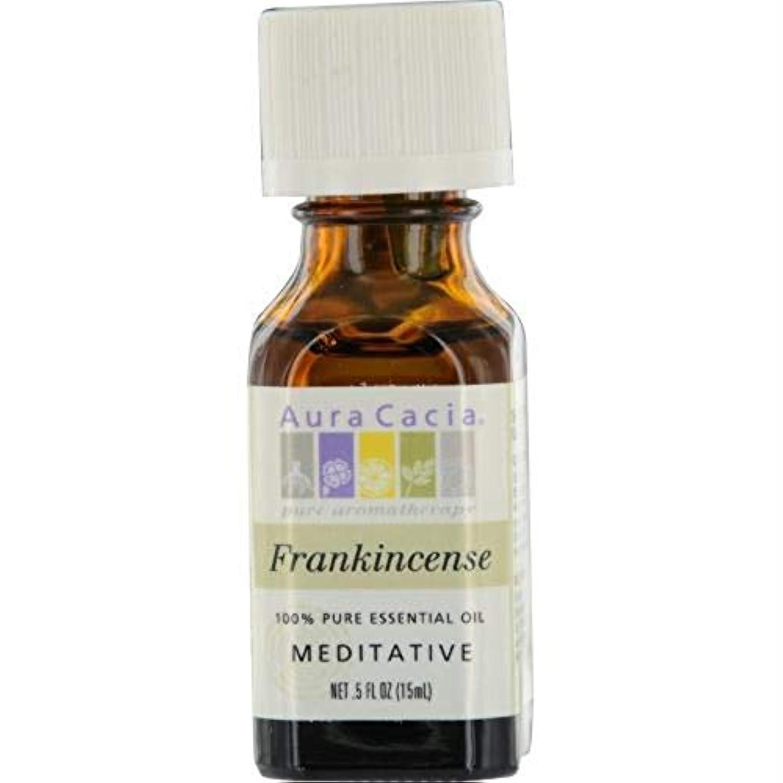 名声クリップ蝶膨らみAura Cacia Frankincense Essential Oil 15 ml (並行輸入品)