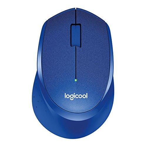 LOGICOOL ロジクール M330 静音マウス ブルー M330BL