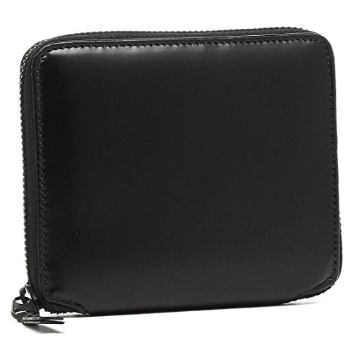 コムデギャルソン 財布 COMME des GARCONS SA2100VB VERY BLACK レディース/メンズ 二つ折り財布 BLACK [並行輸入品]