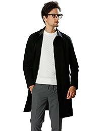 (ダブルジェイケイ)wjk ステンカラーコート stain collar coat メンズ 《1825cf41/99/black》