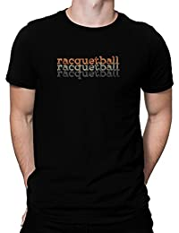 Racquetball repeat retro Tシャツ