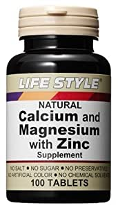 LIFE STYLE カルシウム&マグネシウム&亜鉛