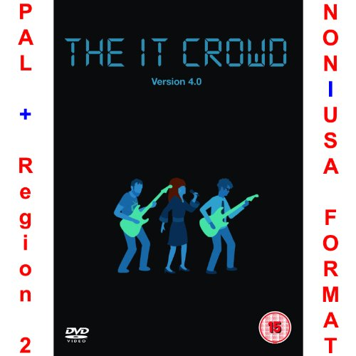 The IT Crowd: Version 4.0 - Original Uncut British Version [NON-U.S.A. FORMAT: PAL Region 2 U.K. Import] (Series/Season 4)
