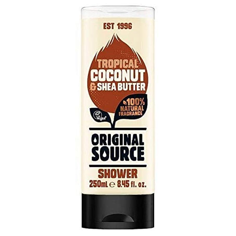[Original Source ] 元のソースココナッツシャワー250ミリリットル - Original Source Coconut Shower 250ml [並行輸入品]