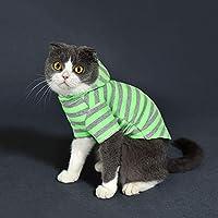 春猫服、カジュアルスタイル、犬服、緑、赤 (色 : Green, サイズ さいず : Xi)