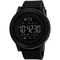 Men Women Smart Watch Calorie Pedometer Multi-Functions Remote Camera,50M Waterproof Digital SmartWatch