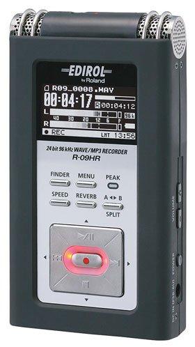 Roland 24bit WAVE/MP3 RECORDER R-09HR