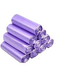家庭用ゴミ袋ペダル袋小箱ヘビーデューティ長方形箱なしゴミ袋クロージングゴミ袋ゴミ箱ゴミ袋PE食品ゴミ袋ゴミ袋(サイズ:45×50cm) (サイズ さいず : 10 rolls of incense 200 bags)