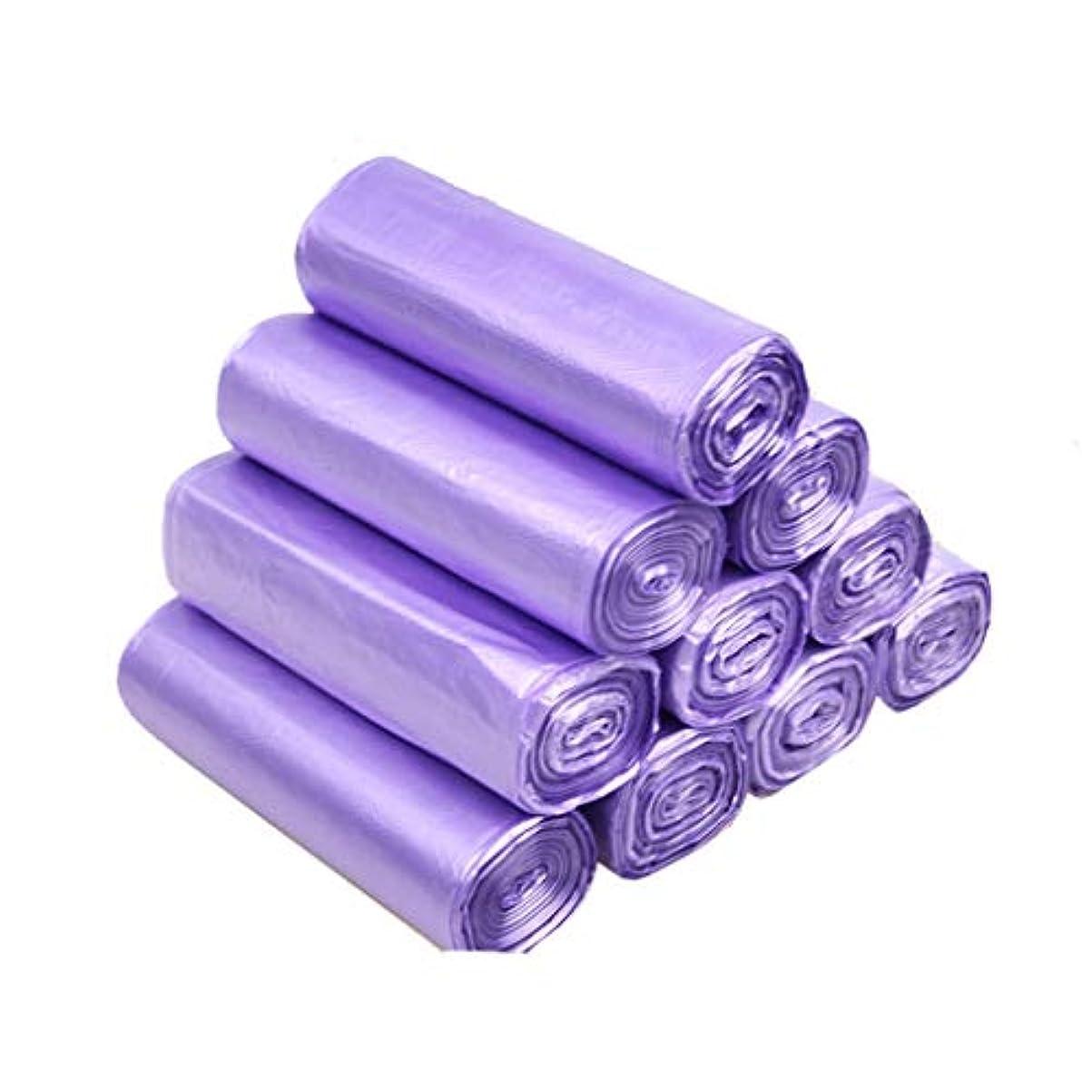 ハチ認証確立家庭用ゴミ袋ペダル袋小箱ヘビーデューティ長方形箱なしゴミ袋クロージングゴミ袋ゴミ箱ゴミ袋PE食品ゴミ袋ゴミ袋(サイズ:45×50cm) (サイズ さいず : 10 rolls of incense 200 bags)