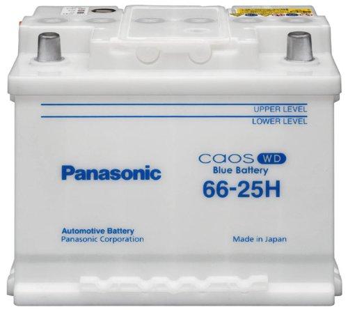 PANASONIC [ パナソニック ] 輸入車バッテリー [ Blue Battery カオス ] N-66-25H/WD