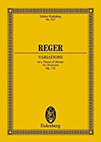 Variations On a Theme of Mozart for Orchestra, Op. 132 (Edition Eulenburg)