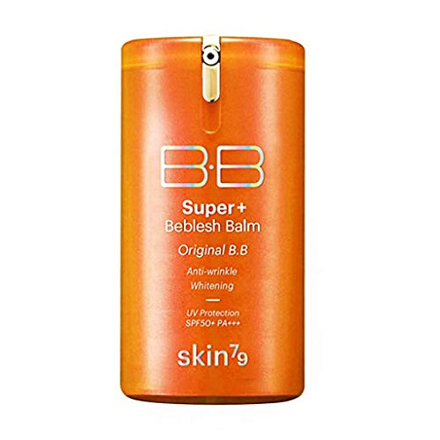 流行チート慣習SKIN79(スキン79) Super Plus Beblesh Balm B.B Triple Functions スーパープラスBBクリーム SPF50/PA+++(ORANGE)