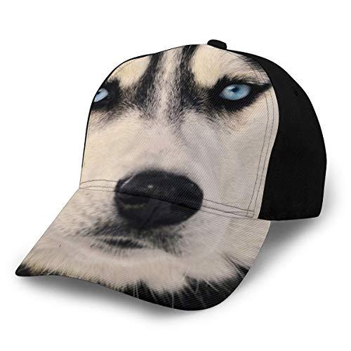 TradingCo シベリアン ハスキー 野球帽 ハット レジャー 帽子 紫外線対策 日よけ 小顔効果