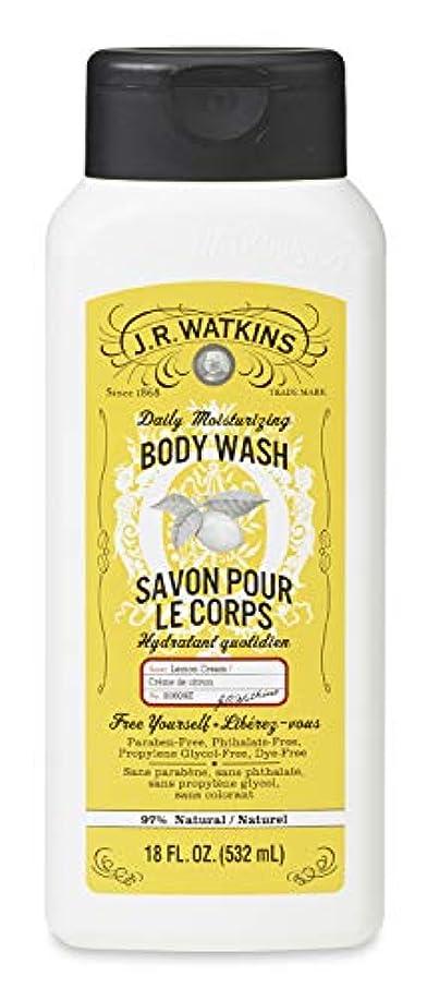 売上高曖昧な廃止J.R.Watkins(ジェイ?アール?ワトキンス) ボディウォッシュ レモンクリーム 532ml