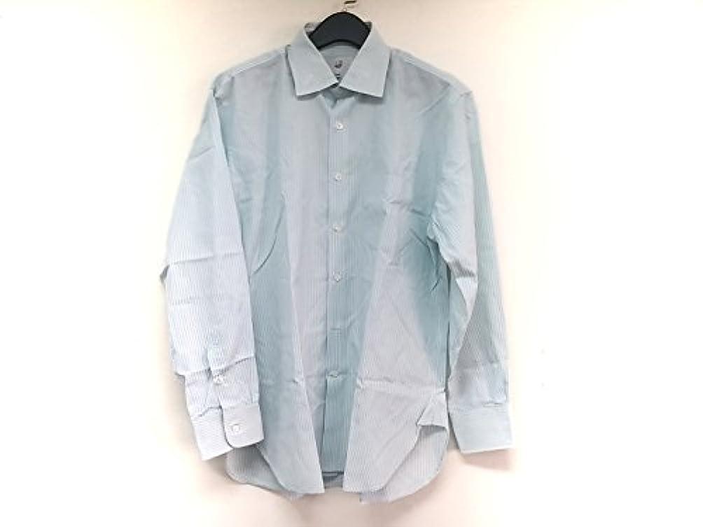 ヒゲブランチ高い(ダンヒル) Dunhill シャツ 長袖シャツ メンズ ライトグリーン×白×黒 【中古】