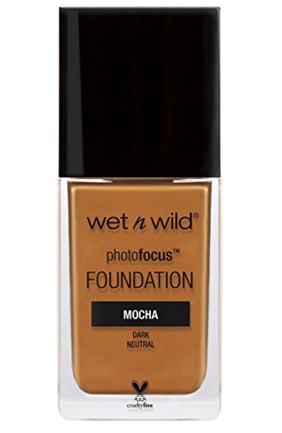 布手順舗装WET N WILD Photo Focus Foundation - Mocha (並行輸入品)