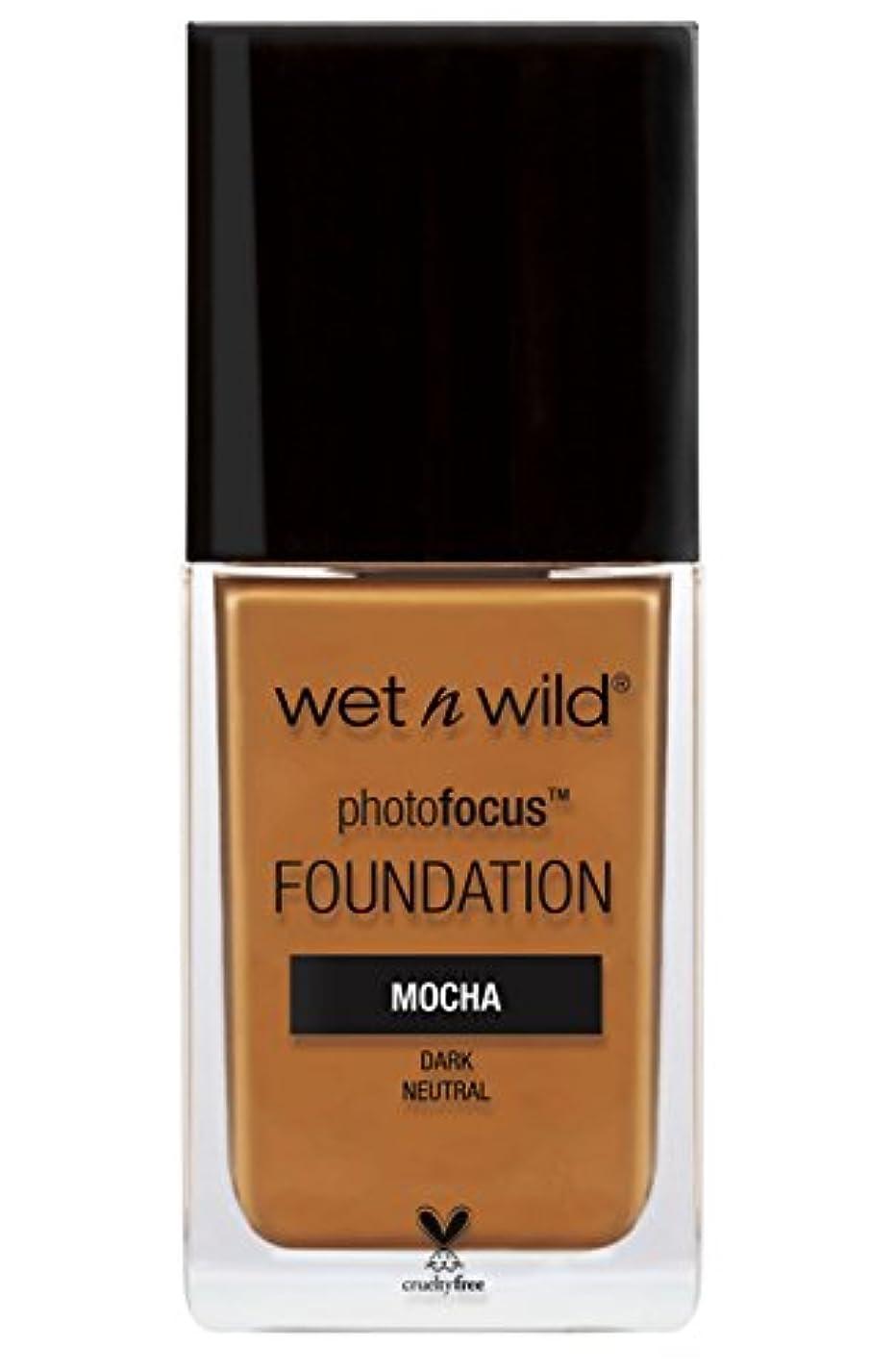 シェアオフェンス一般WET N WILD Photo Focus Foundation - Mocha (並行輸入品)