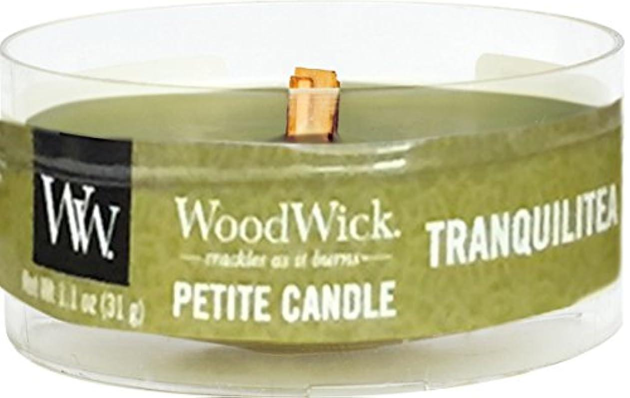 スワップ生産性花に水をやるWood Wick ウッドウィック プチキャンドル トランクィリティ