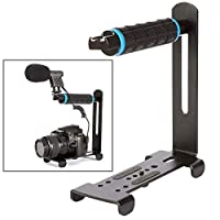 カメラ用 写真アクセサリーYLG0106Aハンドルビデオスタビライザー互換DSLRカメラ/ DV カメラアクセサリー