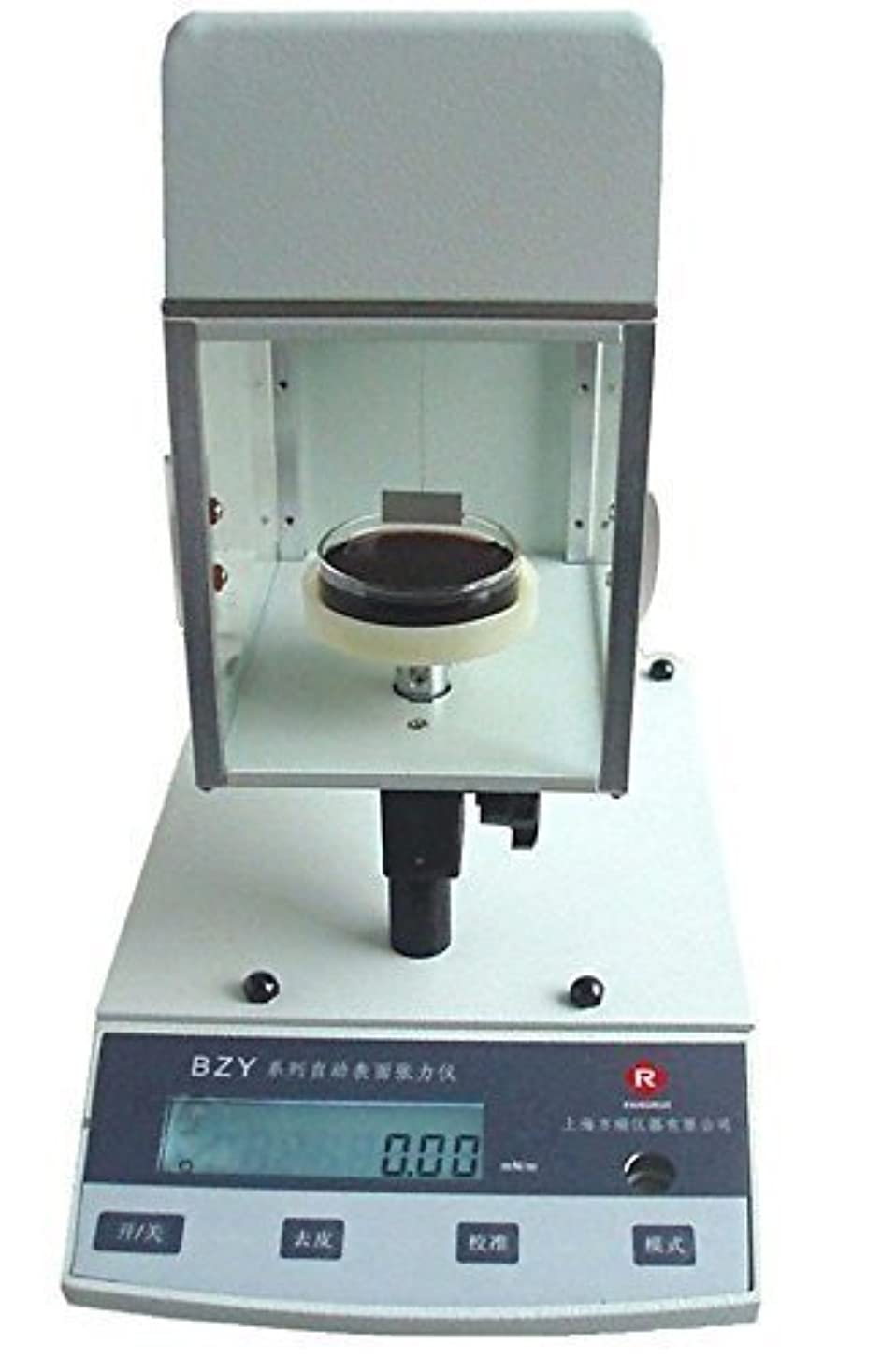 ゲーム人物なぞらえるBZY-203 Automatic Surface Tensiometer Surface Tension Meter 0-400mN/m Platinum Ring/Plate Method (220V)