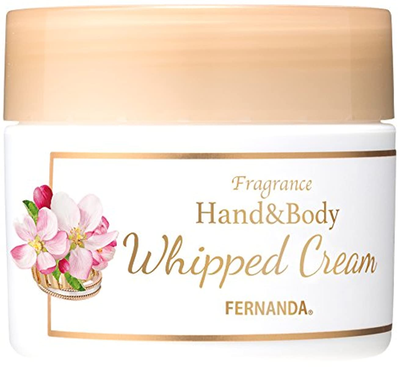 独立して容赦ない適用するFERNANDA(フェルナンダ) Hand&Body Whipped Cream Primeiro Amor (ハンド&ホイップクリーム プリメイロアモール)
