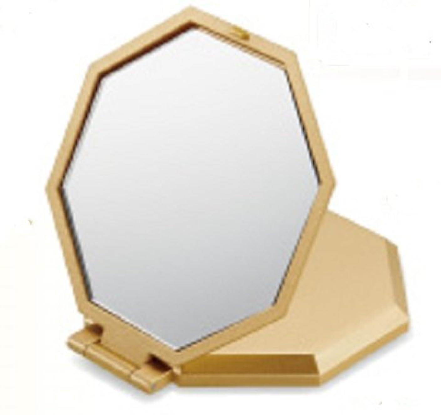 演劇適格注目すべき10倍拡大鏡コンパクト八角ミラー コンパクトミラー 拡大鏡 10倍 八角 手鏡 風水