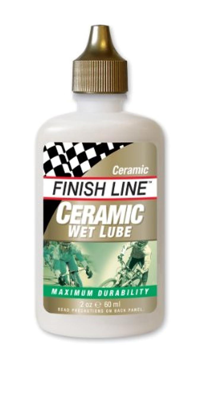 どこにも整理する利益FINISH LINE (フィニッシュライン) セラミック ウェット チェーン ルーブ Ceramic Wet Chain LubeTOS06601 サイクルクリーナー (Men's、Lady's)