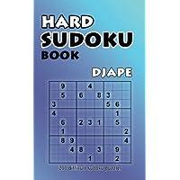 Hard Sudoku Book: 200 Difficult Sudoku Puzzles (Volume 1)