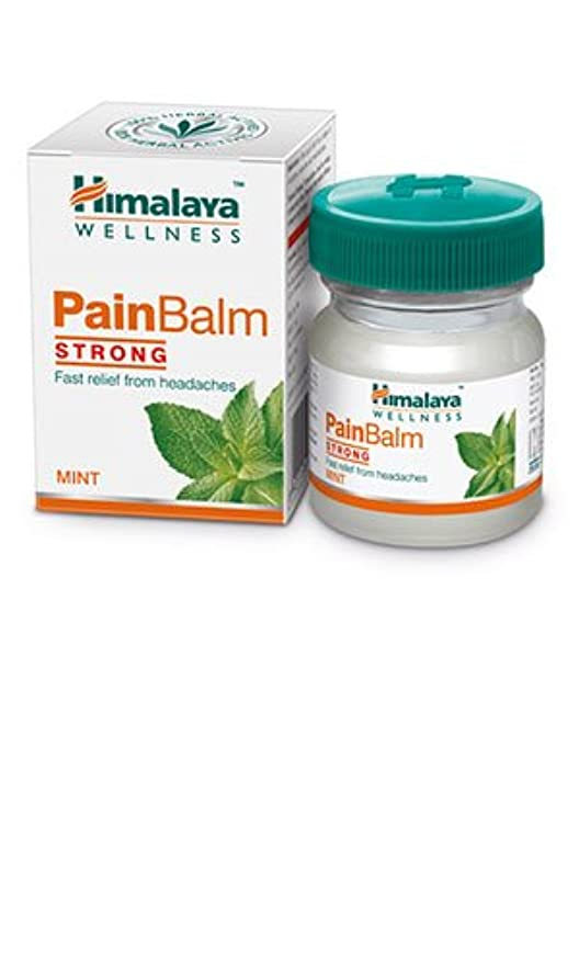 葬儀ドット難しいHimalaya Pain Balm Strong 45 gm