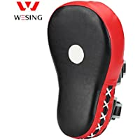 Wesing Professionalボクシングムエタイ空手高度な拡張Curved Punch Mitts wrist-protective and forearm-protectiveタイプfor high-intensive Punchingトレーニング
