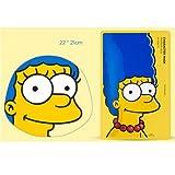 【The Face Shop (ザ・フェイスショップ)】 The Simpsons ザ・シンプソンズ キャラクターマスク 25g (3種類選択1) (マージ (ザクロ)) [並行輸入品]