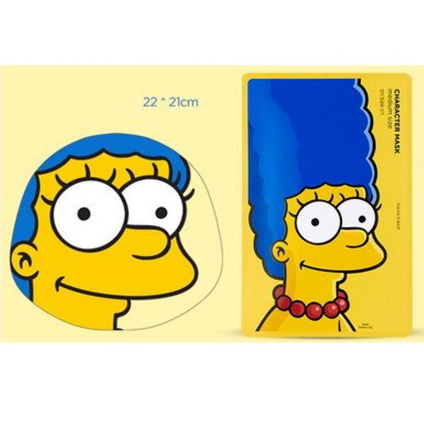 聖人地震思慮深い【The Face Shop (ザ?フェイスショップ)】 The Simpsons ザ?シンプソンズ キャラクターマスク 25g (3種類選択1) (マージ (ザクロ)) [並行輸入品]