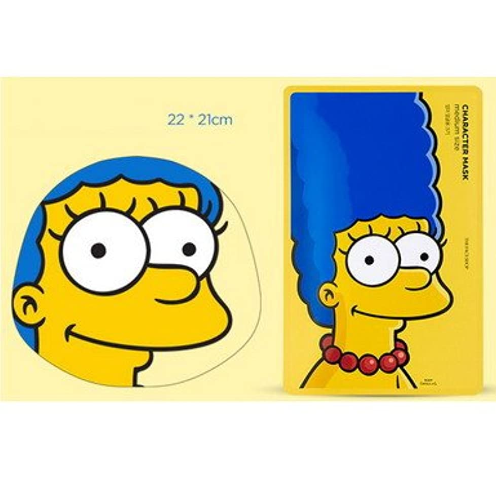 着実に毛布確立【The Face Shop (ザ?フェイスショップ)】 The Simpsons ザ?シンプソンズ キャラクターマスク 25g (3種類選択1) (マージ (ザクロ)) [並行輸入品]