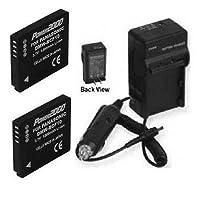 2つ2電池+充電器for Panasonic dmcfs4ep、Panasonic dmcfs4gc、Panasonic dmc-fs4gj、Panasonic dmc-fs4gn