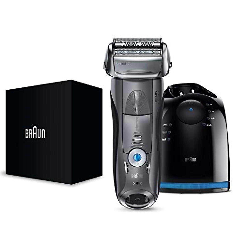 まだ通信網アナロジー【Amazon.co.jp 限定】ブラウン メンズ電気シェーバー シリーズ7 7867cc 4カットシステム 洗浄機付 水洗い/お風呂剃り可