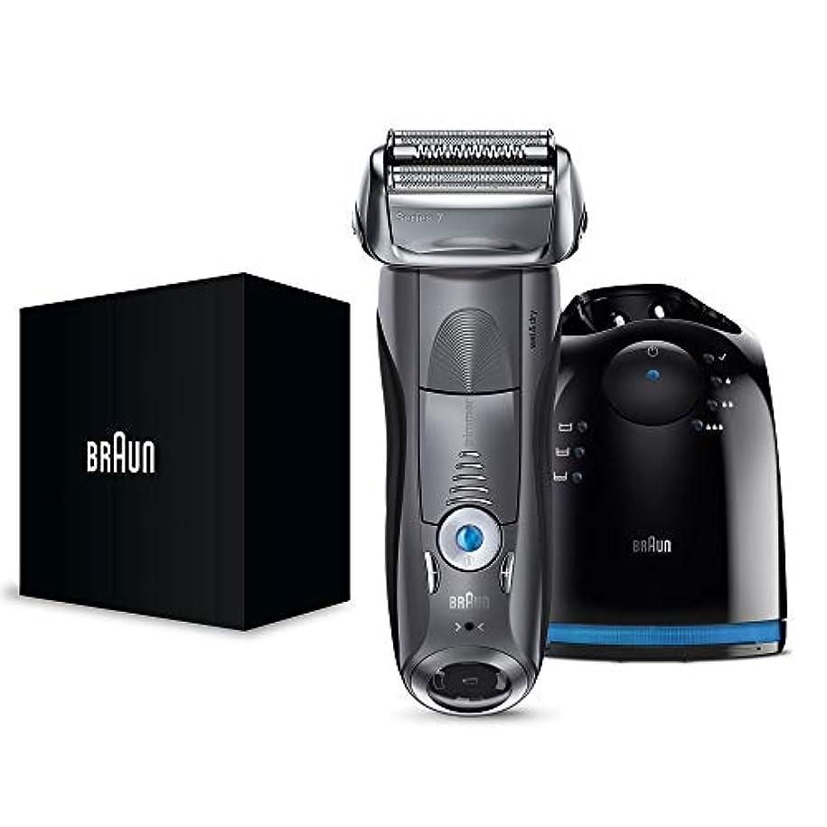 ただに渡って放置【Amazon.co.jp 限定】ブラウン メンズ電気シェーバー シリーズ7 7867cc 4カットシステム 洗浄機付 水洗い/お風呂剃り可