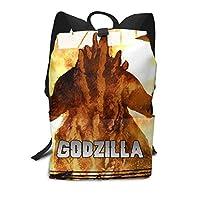 双肩大容量リュックサック King Godzilla バックパック メンズ レディース 中学生 バッグ かばん Schoolbag スクエアリュック 通学 通勤