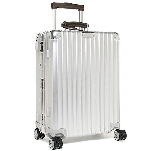 (リモワ) RIMOWA リモワ スーツケース RIMOWA 971.53.00.4 CLASSIC FLIGHT クラシックフライト 55CM 37L 4輪 TSAロック付き キャリーケース SILVER [並行輸入品]