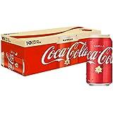 Coca-Cola Vanilla Soft Drink Multipack Cans, 10 x 375 ml