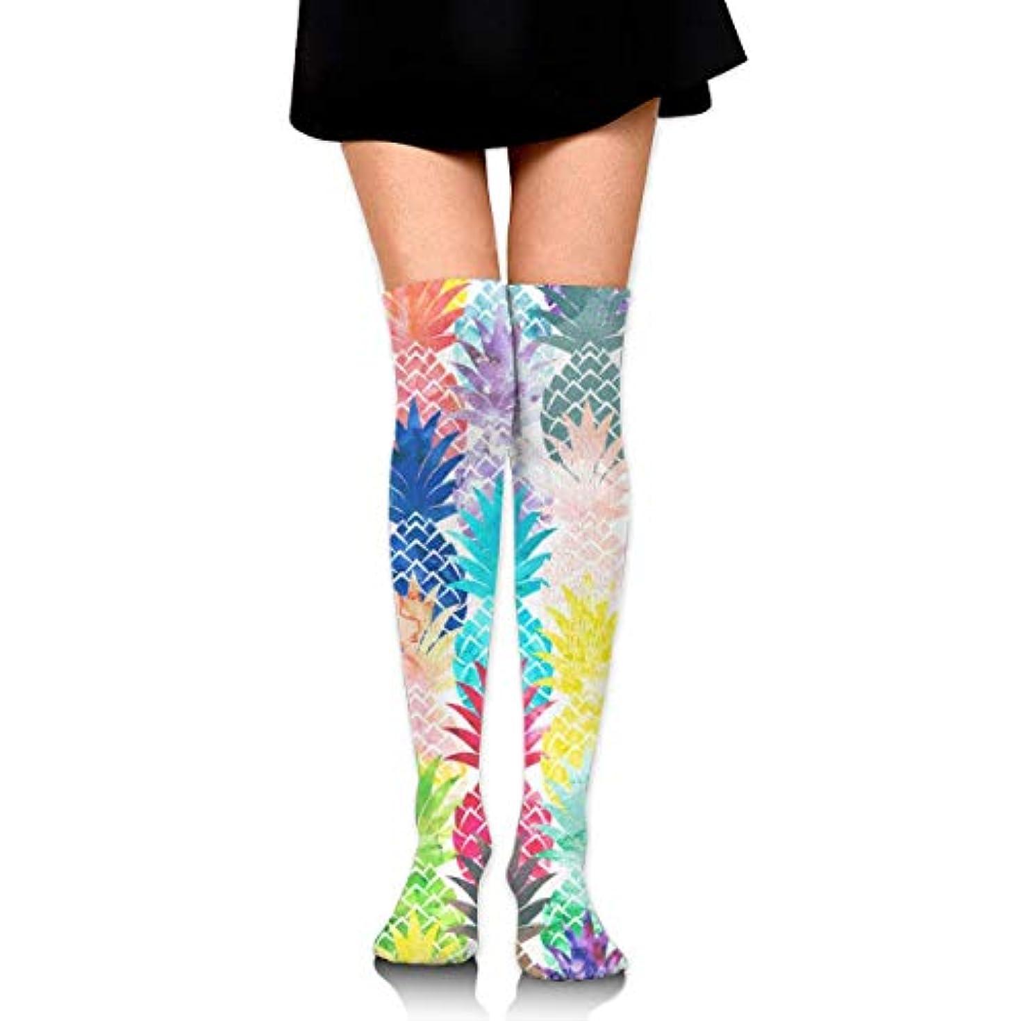 からかう笑いアフリカMKLOS 通気性 圧縮ソックス Breathable Classic Warmer Tube Leg Stockings Magic Mermaid Fish Scales (5) Exotic Psychedelic...