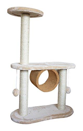 サンコー商事 キャットタワー 据え置きタイプ 幅57-60cm×奥行き27cm×高さ86cm