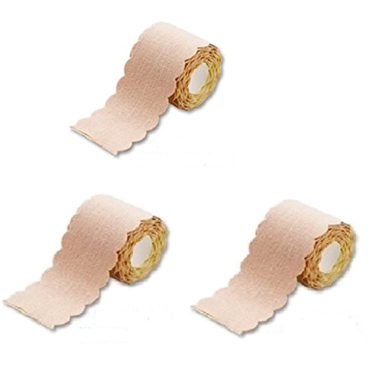 小包ラテン韓国語直接貼るからズレない汗シート! 汗取りパッド ワキに直接貼る汗とりシート ロールタイプ 3m×3個セット (たっぷり9m 特別お得セット)まとめ割 脇汗ジミ わき汗 対策