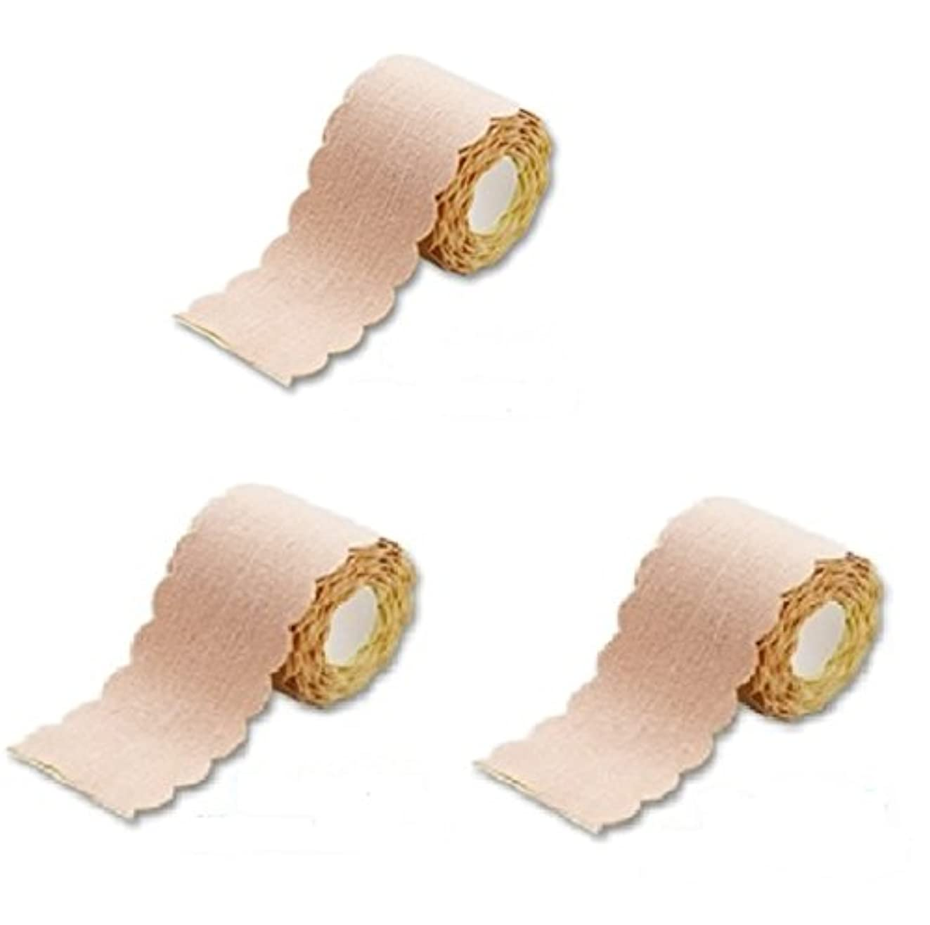 崩壊起点ファンシー直接貼るからズレない汗シート! 汗取りパッド ワキに直接貼る汗とりシート ロールタイプ 3m×3個セット (たっぷり9m 特別お得セット)まとめ割 脇汗ジミ わき汗 対策